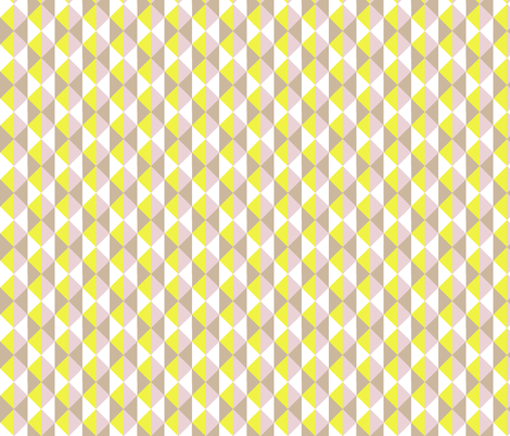 trio yellow fabric by myracle on Spoonflower - custom fabric