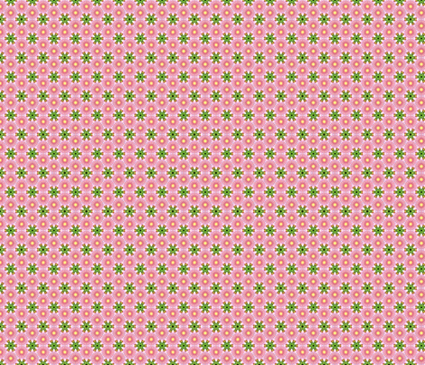 pretty little pink fabric by kerryn on Spoonflower - custom fabric