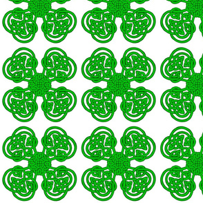 Knotwork 4 Leaf Clover