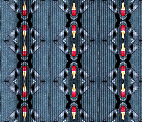 Polymer Clay Scan digitally altered fabric by koalalady on Spoonflower - custom fabric