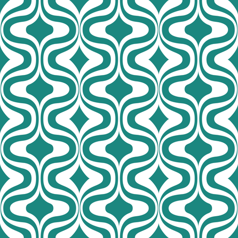 70s retro pattern fabric by dennisthebadger on Spoonflower - custom fabric