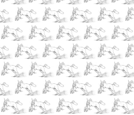 uniquecorn fabric by mezzime on Spoonflower - custom fabric
