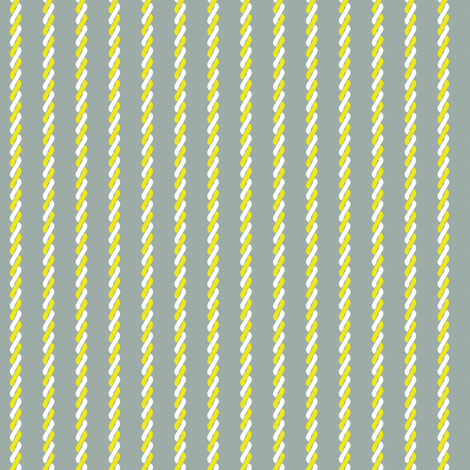 Citronade Twist Stripe fabric by siya on Spoonflower - custom fabric