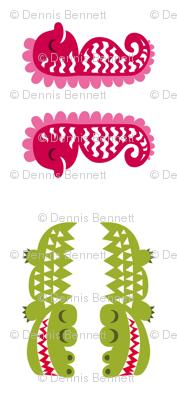 greenbubz croc and seahorse