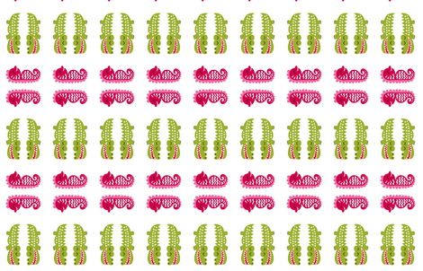 greenbubz croc and seahorse fabric by dennisthebadger on Spoonflower - custom fabric