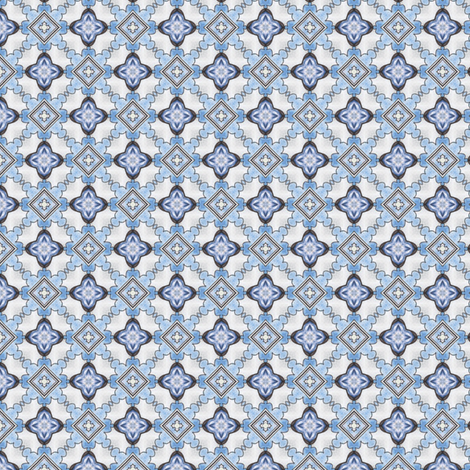 Kojiro's Crosses and Diamonds fabric by siya on Spoonflower - custom fabric