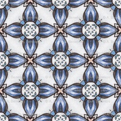 Kojiro's Blueflower Grid