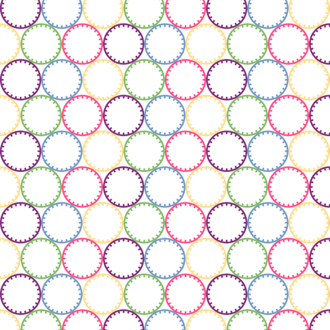 Chariklo Rings fabric by siya on Spoonflower - custom fabric