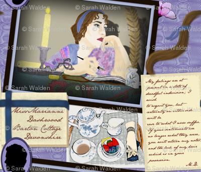 Marianne Dashwood ~ Sense & Sensibility ~ Jane Austen