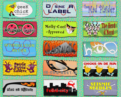 designer labels for geek chix