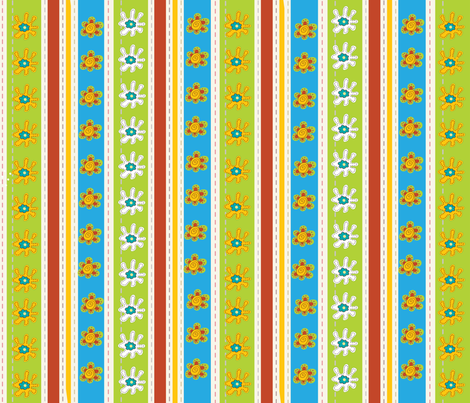 EGGCITED_SASSY_STRIPES_001 fabric by deeniespoonflower on Spoonflower - custom fabric