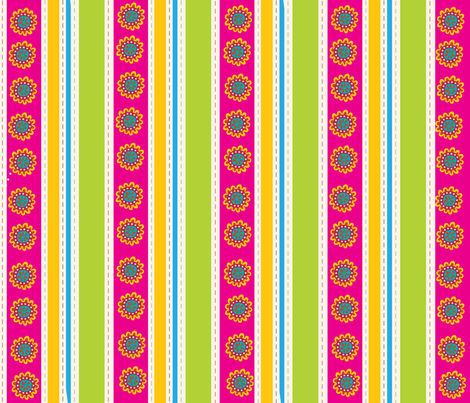 EGGCITED_SASSY_STRIPES_002 fabric by deeniespoonflower on Spoonflower - custom fabric