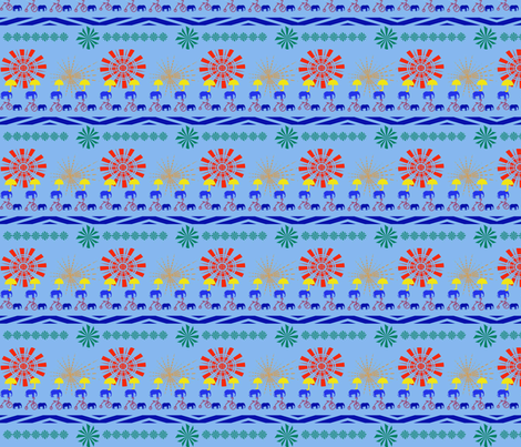 Circus Whirl Mini fabric by scifiwritir on Spoonflower - custom fabric