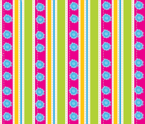 EGGCITED_SASSY_STRIPES_005 fabric by deeniespoonflower on Spoonflower - custom fabric