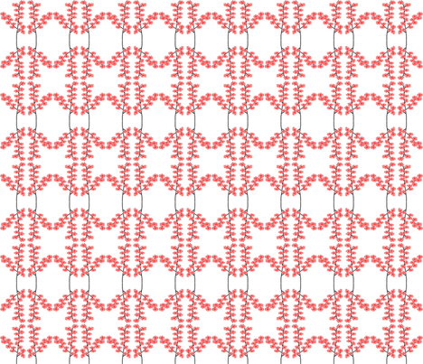 oriental_blossoms m fabric by vos_designs on Spoonflower - custom fabric