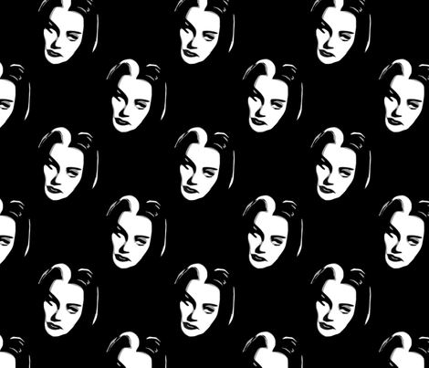Munster Girl fabric by slickandhisruin on Spoonflower - custom fabric