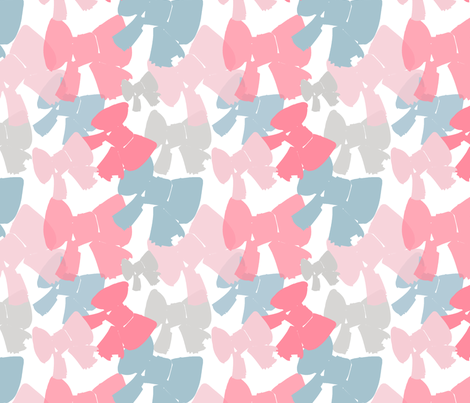 Bows and Bows fabric by emma_smith on Spoonflower - custom fabric
