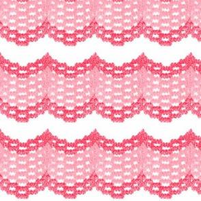 Vintage Pink Ruffles