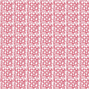 op_art red