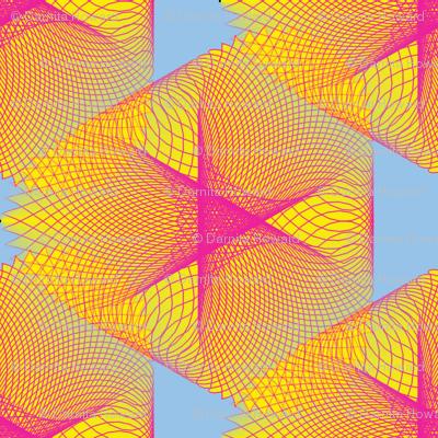 Yellow Spirogram