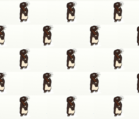 Mini Lop Rabbit - Hazel fabric by hazelhillrabbitry on Spoonflower - custom fabric