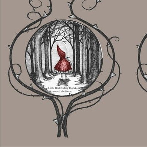 Little Red Riding Hood - panels