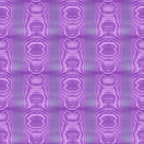 Moire Stripe ~ Periwinkle, Lavender and Purple