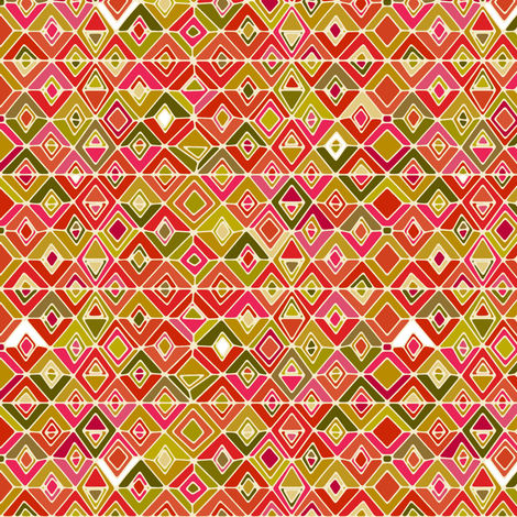 fashionista diamonds fabric by scrummy on Spoonflower - custom fabric