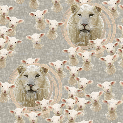 Spring lambs and lions
