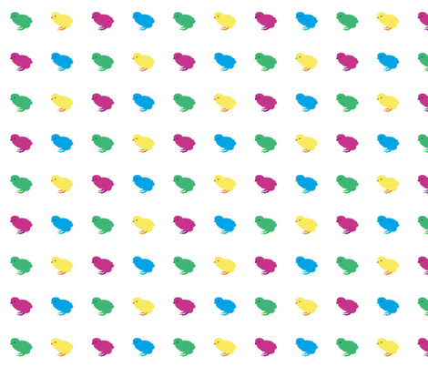 Pop Art Chicks fabric by animotaxis on Spoonflower - custom fabric
