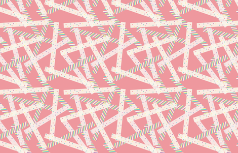 Washi [Pink] fabric by lydia_meiying on Spoonflower - custom fabric