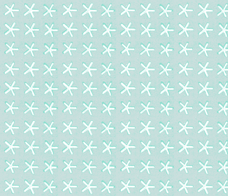 carolina star - sea glass fabric by kerrysteele on Spoonflower - custom fabric