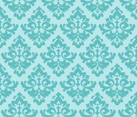 katia_damask_1 fabric by juneblossom on Spoonflower - custom fabric