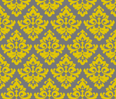 katia_damask_2 fabric by juneblossom on Spoonflower - custom fabric