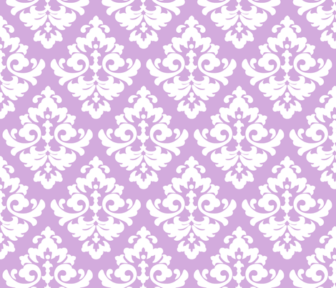 katia_damask_3 fabric by juneblossom on Spoonflower - custom fabric