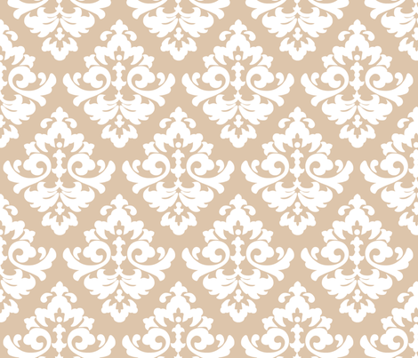katia_damask_5 fabric by juneblossom on Spoonflower - custom fabric