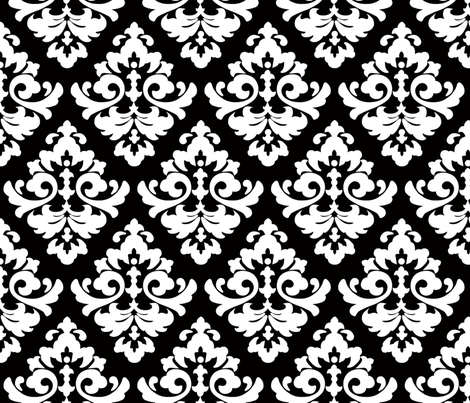 katia_damask_6 fabric by juneblossom on Spoonflower - custom fabric