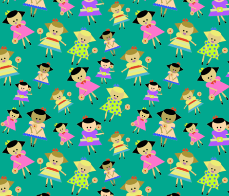 sweeties fabric by mcuetara on Spoonflower - custom fabric