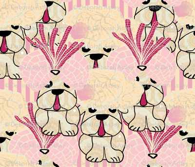 Pug's Puppies (Lady Bertram, Mansfield Park)