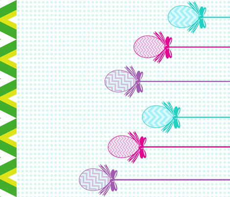 Easter Egg Dangles - Tea Towel  - © PinkSodaPop 4ComputerHeaven.com