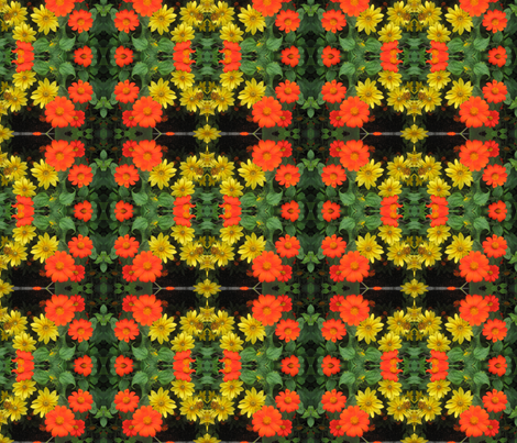 Floral Delight fabric by balsamo on Spoonflower - custom fabric