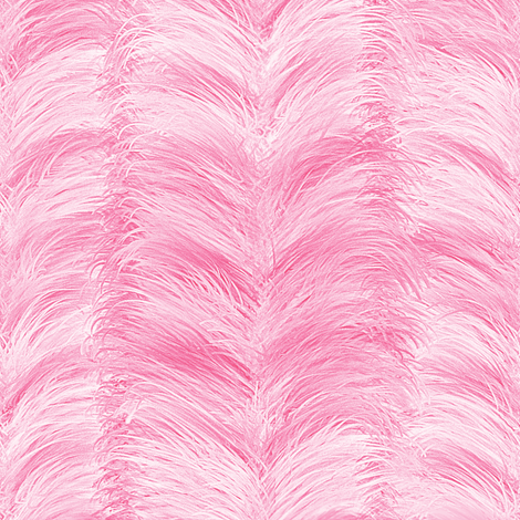 The Feathered Stripe ~ Pink fabric by peacoquettedesigns on Spoonflower - custom fabric