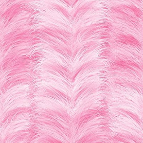 The Feathered Stripe ~ Pink
