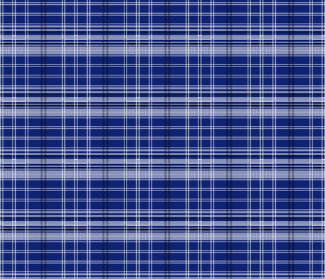 Police Box Plaid 4 v1 fabric by morrigoon on Spoonflower - custom fabric