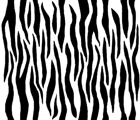 baby zebra fabric by paragonstudios on Spoonflower - custom fabric