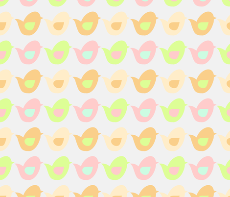 Baby Mine 05 fabric by silkescraps on Spoonflower - custom fabric