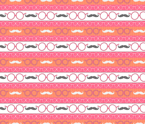 Geeky Girly fabric by silkescraps on Spoonflower - custom fabric