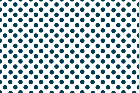 Navy Blue Polka Dots fabric by karenharveycox on Spoonflower - custom fabric