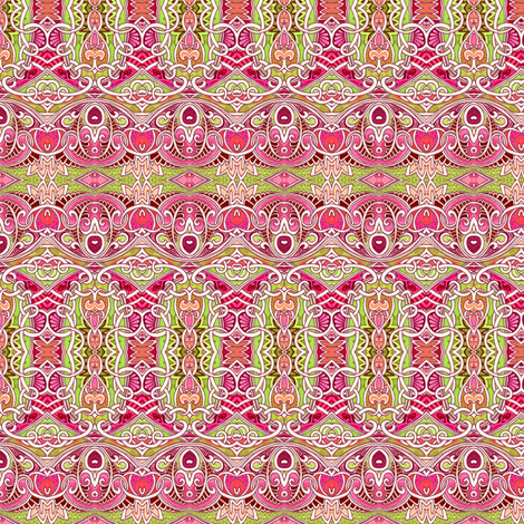 Sugar and Spice and Everything Pink and Frilly fabric by edsel2084 on Spoonflower - custom fabric