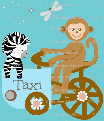 Funday taxi / monkey